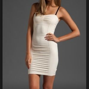 Intimately Free People bodycon cream NWT dress